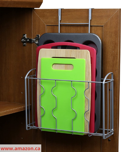 Canva cutting boards - Fast & Easy Back of Cabinet & Door Storage Ideas