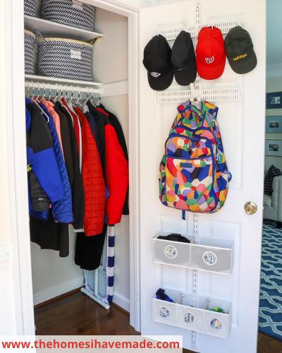 Canva entryway - Fast & Easy Back of Cabinet & Door Storage Ideas