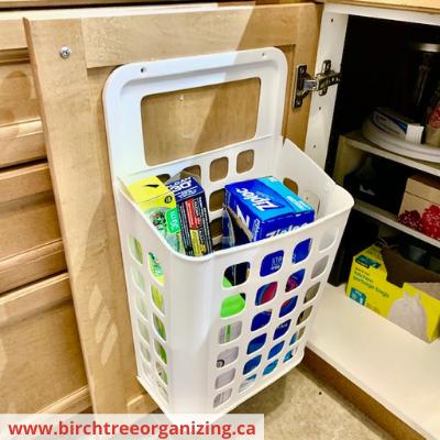 Canva ikea wrap - Fast & Easy Back of Cabinet & Door Storage Ideas