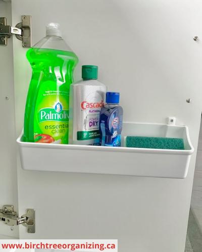 Canva kitchen sink - Fast & Easy Back of Cabinet & Door Storage Ideas