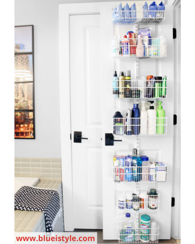 Canva toiletries - Fast & Easy Back of Cabinet & Door Storage Ideas