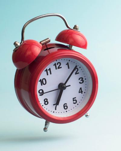 alarm clock - 25 Back-To-School Tips & Free Printables