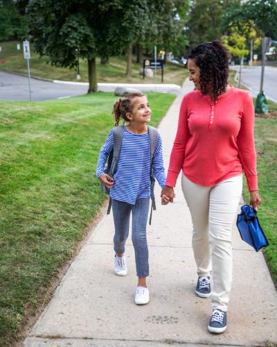 walking to school - 25 Back-To-School Tips & Free Printables