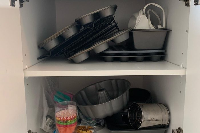 Baking Cupboard before